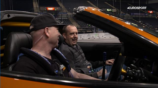 Mark Williams goes drifting: Fast and Furious?