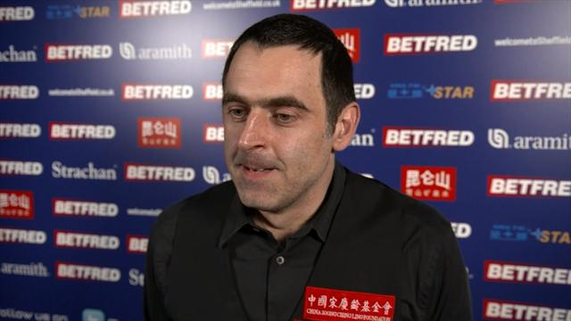 O'Sullivan: Carter was the better player today