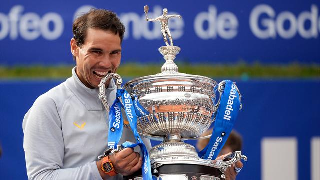 Nadal wins 11th Barcelona Open title