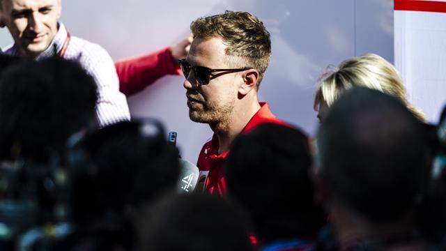 Vettel a attaqué Bottas en aveugle au restart, et il ignorait où il allait freiner…