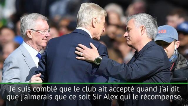 Mourinho : «Heureux de la classe de mon club envers Wenger»
