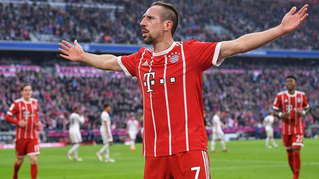 «Бавария» объявила опродлении договора сфутболистом Рибери