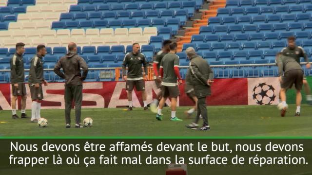 Müller : «Nous devons être affamés devant le but»