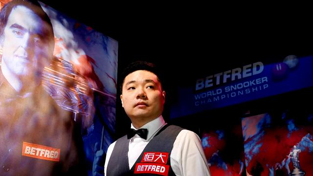 Ding Junhui fights back to oust Joe Perry