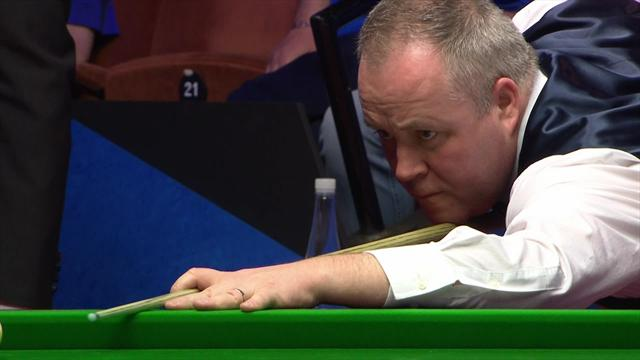 John Higgins beats Judd Trump to reach last four
