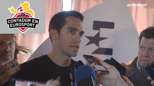 Contador en Eurosport: Pide una resolución para el caso Froome y no cree que le afecte en carrera