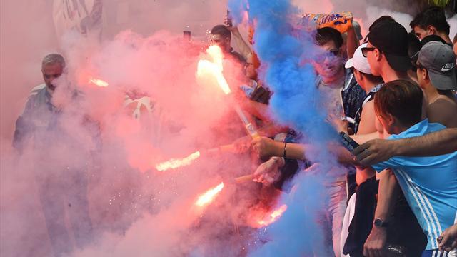 """A la veille de la demie retour, les supporters de l'OM ont """"mis le feu"""" à la Commanderie"""