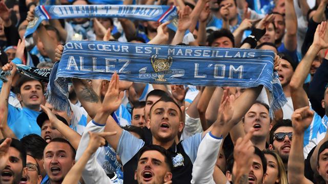 Les Marseillais font monter la température devant le Groupama Stadium