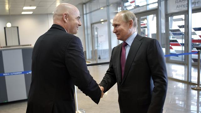 Pour la FIFA, la Russie est «absolument prête» pour la Coupe du monde