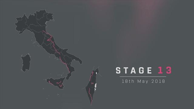Giro de Italia 2018: Perfil de la 13ª etapa, Ferrara – Nervesa della Battaglia (180 km)