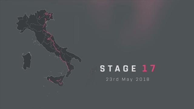 Giro d'Italia 2018, tappa 17: Riva del Garda-Iseo, percorso e altimetria