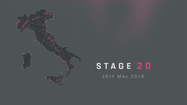 Giro d'Italia 2018, tappa 20: Susa-Cervinia, percorso e altimetria