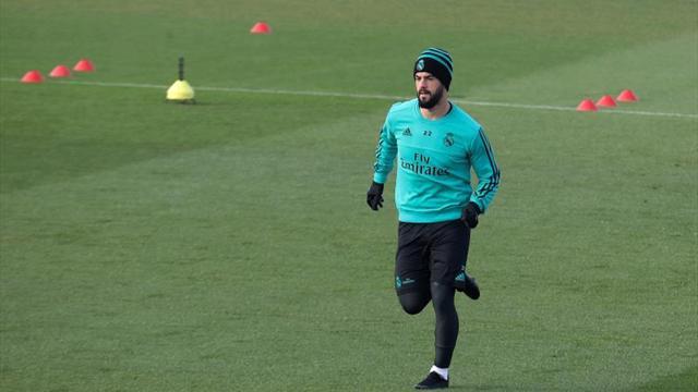 El Madrid prepara el choque en Sevilla con Isco