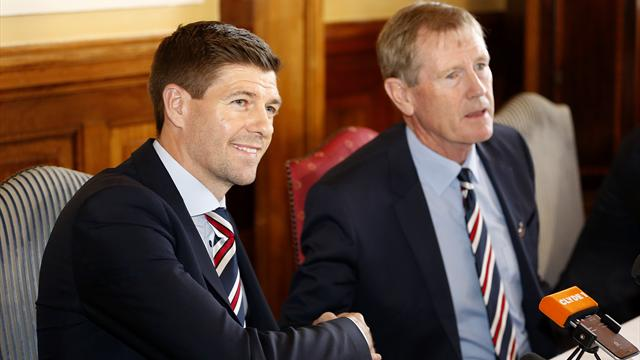 Steven Gerrard has made his decision on the Rangers job