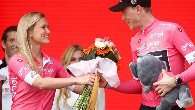 Rohan Dennis lidera el Giro de Italia