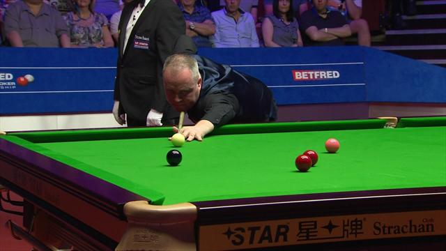 John Higgins seals victory with fine 98 break
