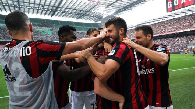 Milán regresa al Hellas a la Serie B
