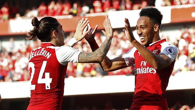 Arsenal célèbre la dernière de Wenger à domicile en écrasant Burnley