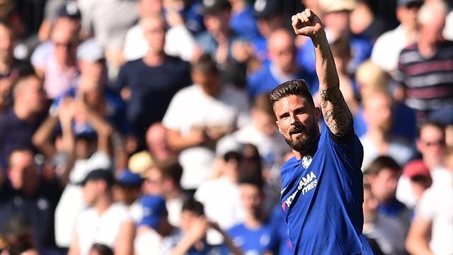 Grâce à Giroud, Chelsea peut toujours rêver de Ligue des champions