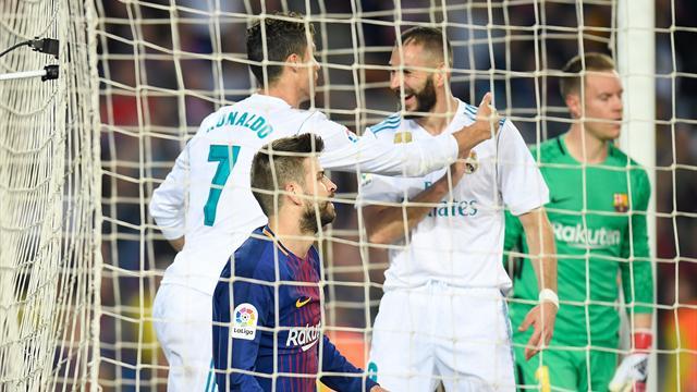 Avec ce but, Ronaldo a égalé Di Stefano dans l'histoire des Clasicos du Real Madrid