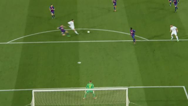 Bale a frappé sans réfléchir à 20m et Ter Stegen n'a rien pu faire