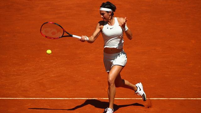 Serena s'en tire bien, Garcia beaucoup moins