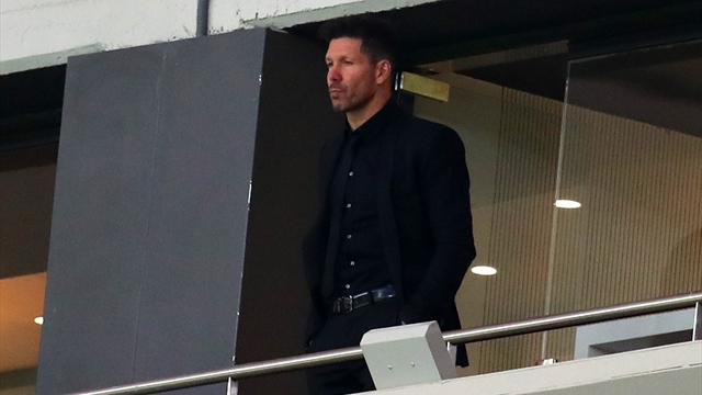 Simeone no estará en el banquillo en la final: El TAS rechaza la suspensión cautelar de su sanción