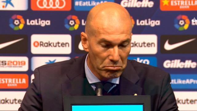 Zidane : «Je ne vais pas parler d'arbitrage…»