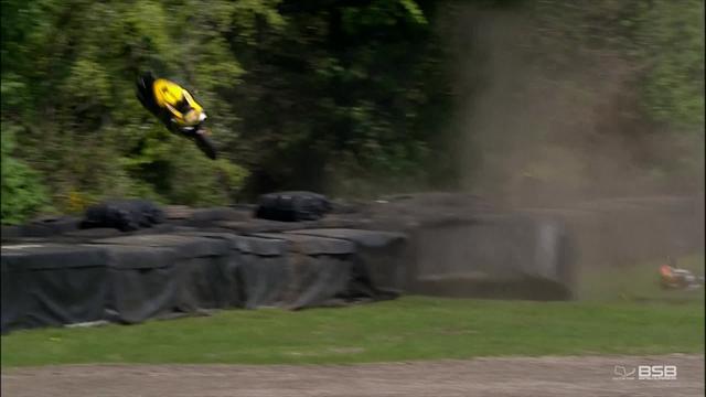 Heftiger Abflug: Wenn das Bike plötzlich in den Wald fliegt