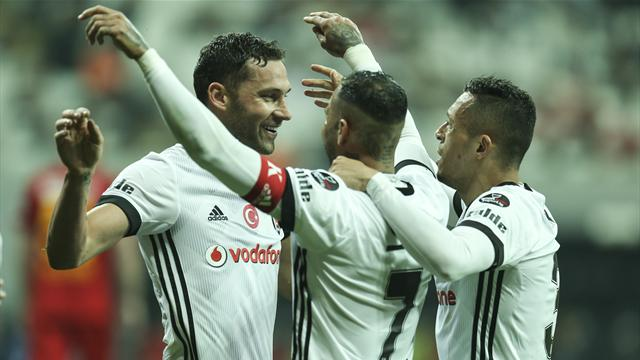 Tosic, Beşiktaş'a veda etti