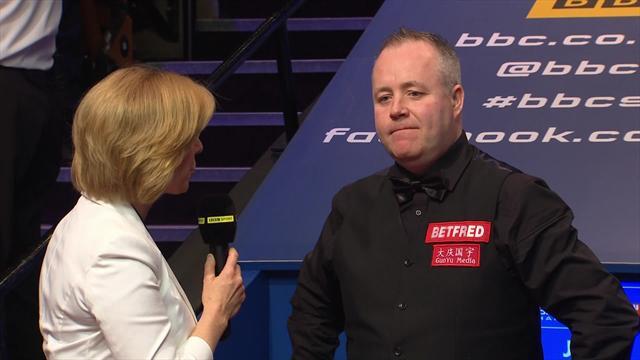 Higgins puts brave face on final defeat