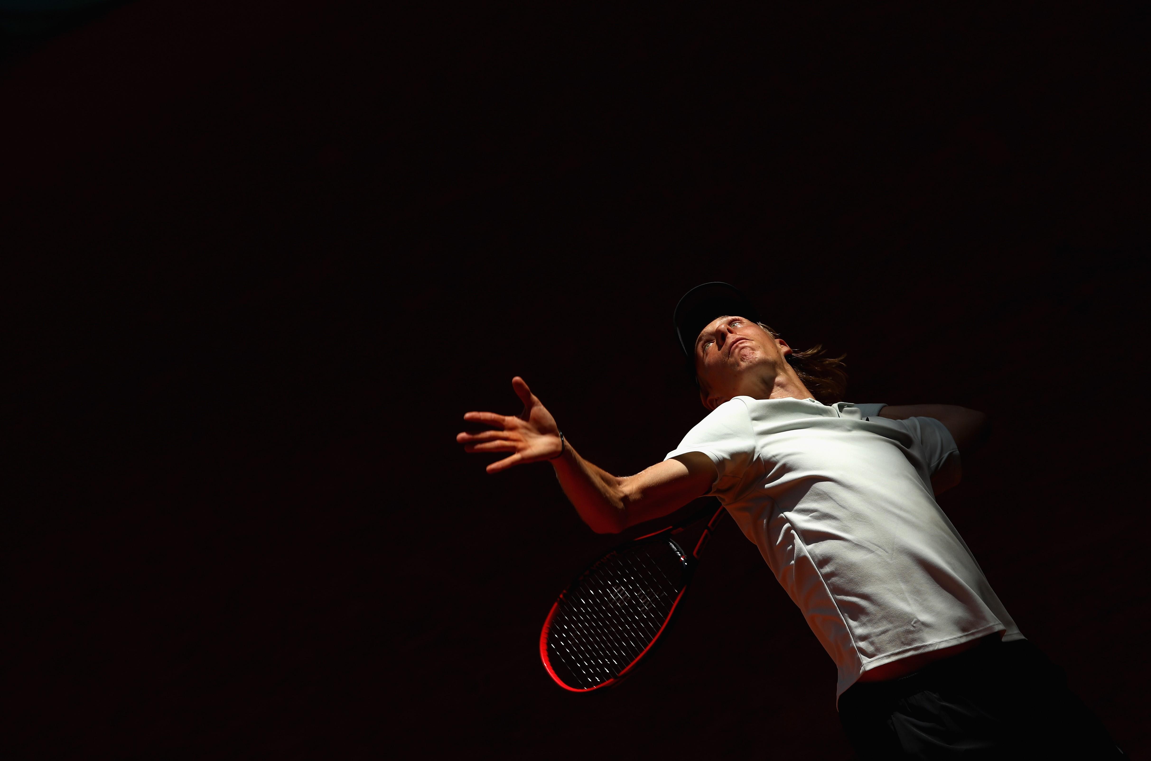 Denis Shapovalov lors du Masters 1000 de Madrid