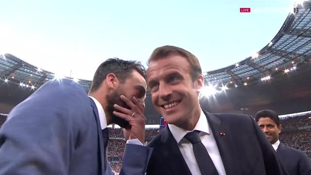 Le petit mot du coach des Herbiers au président Macron