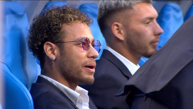 Comme prévu, Neymar est bien présent aux côtés de ses coéquipiers