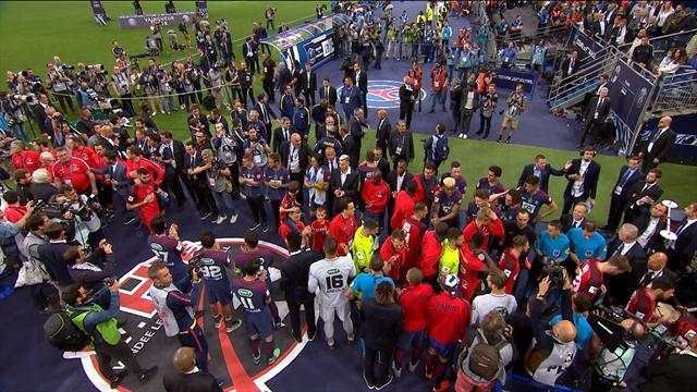 Classe, Neymar et les Parisiens ont offert une haie d'honneur à leur adversaire