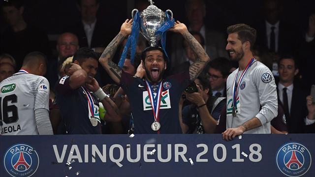 Un 38e trophée pour Dani Alves, le joueur le plus titré au monde