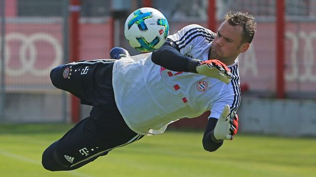 Nach acht Monaten: Neuer zurück im Bayern-Kader
