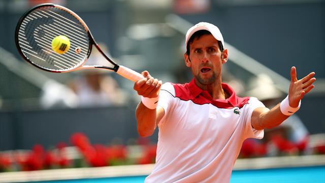 Masters 1.000 Roma, Djokovic-Basilashvili: Otro pasito más hacia el objetivo (6-4 y 6-2)