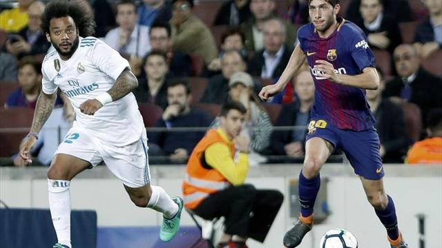 Sergi Roberto, suspendido con cuatro partidos