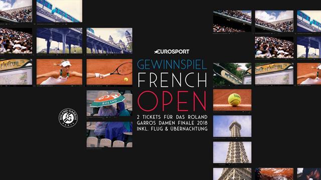 Die Stars live erleben! Gewinne eine exklusive Reise zu den French Open