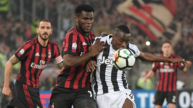 «Ювентус» взял четвертый Кубок Италии подряд