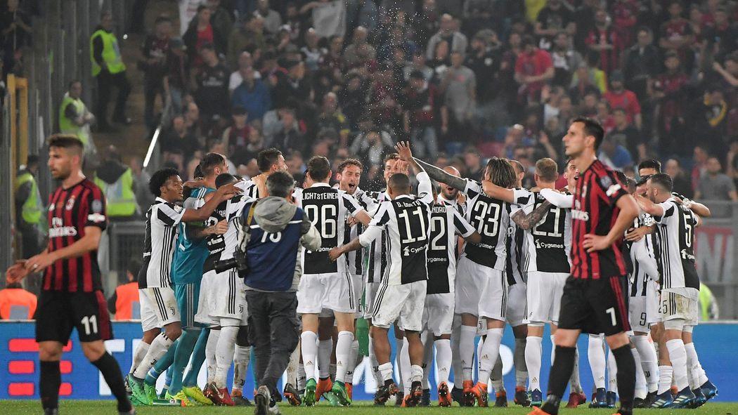 Milan Ac Calendrier.Coupe D Italie La Juventus Remporte Son 13e Titre Face A L