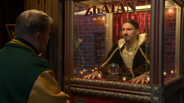 VIDEO – Zlatan joue les voyants dans un late show américain