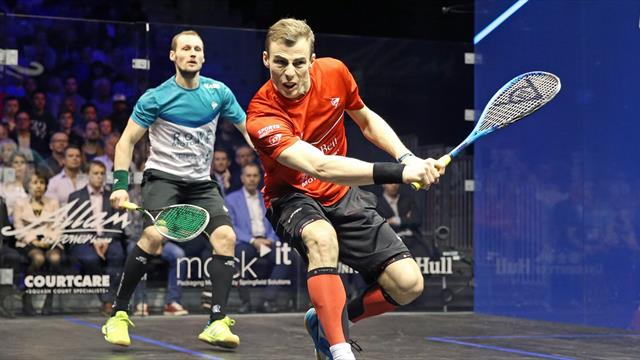 Matthew aiming to keep emotions at bay ahead of British Open squash bow