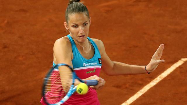 Mutua Madrid Open, Simona Halep-Karolina Pliskova: La aspirante acaba con la reina (4-6 y 3-6)
