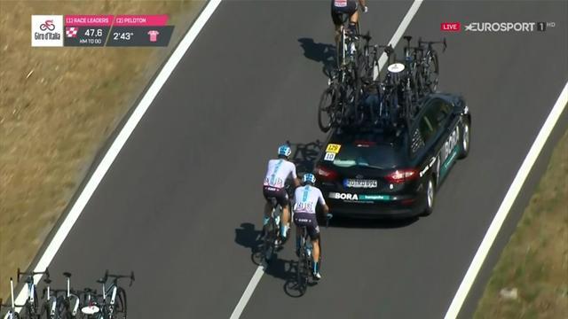 Giro de Italia 2018: El trascoche de Froome, ¿debería ser sancionado?