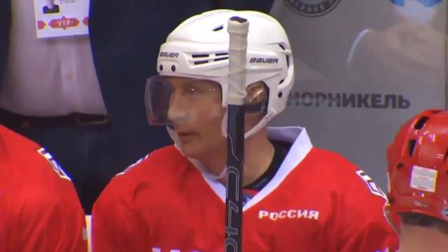 Путин: «Я хоккеист еще тот. Может, перейду в профи, когда будет меньше дел на нынешней работе»