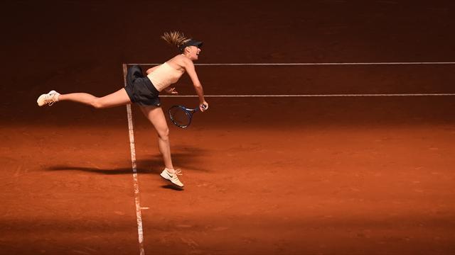 Шарапова проиграла Бертенс в четвертьфинале