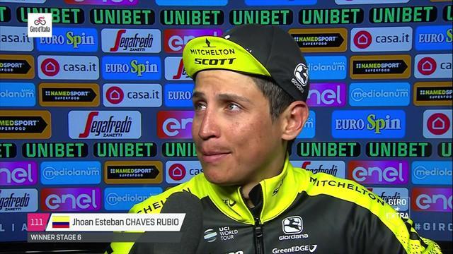 """Giro de Italia 2018: Chaves vuelve a sonreír tras una gran victoria, """"es increíble"""""""