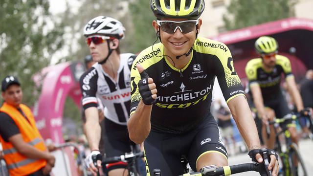 Chaves gewinnt Giro-Spektakel am Ätna - Yates in Rosa